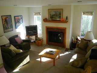 Carrabassett Valley condo photo - living room