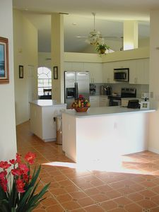 Kitchen with high quality appliances.
