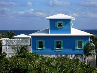 Elbow Cay and Hope Town house photo - Front of Catch a Wave