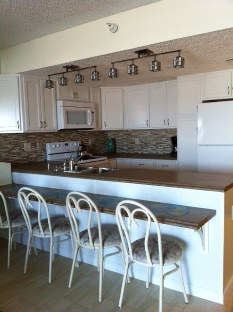 Fully equipped & newly remodeled kitchen. One you would want for your own!
