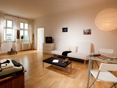 Berlin-Mitte apartment rental - Living room