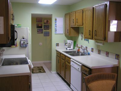 Seascape Resort condo rental - Kitchen
