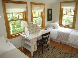 Gayhead - Aquinnah house photo - Third bedroom with two twin beds