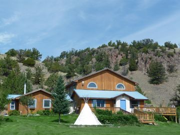 Emigrant house rental - Enjoy our playful mountain home in the midst of 20 acres of pristine wilderness.