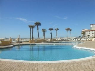 Pensacola Beach condo photo - 2 pools-1 heated, hot tub, steps away from sugar white sand beach