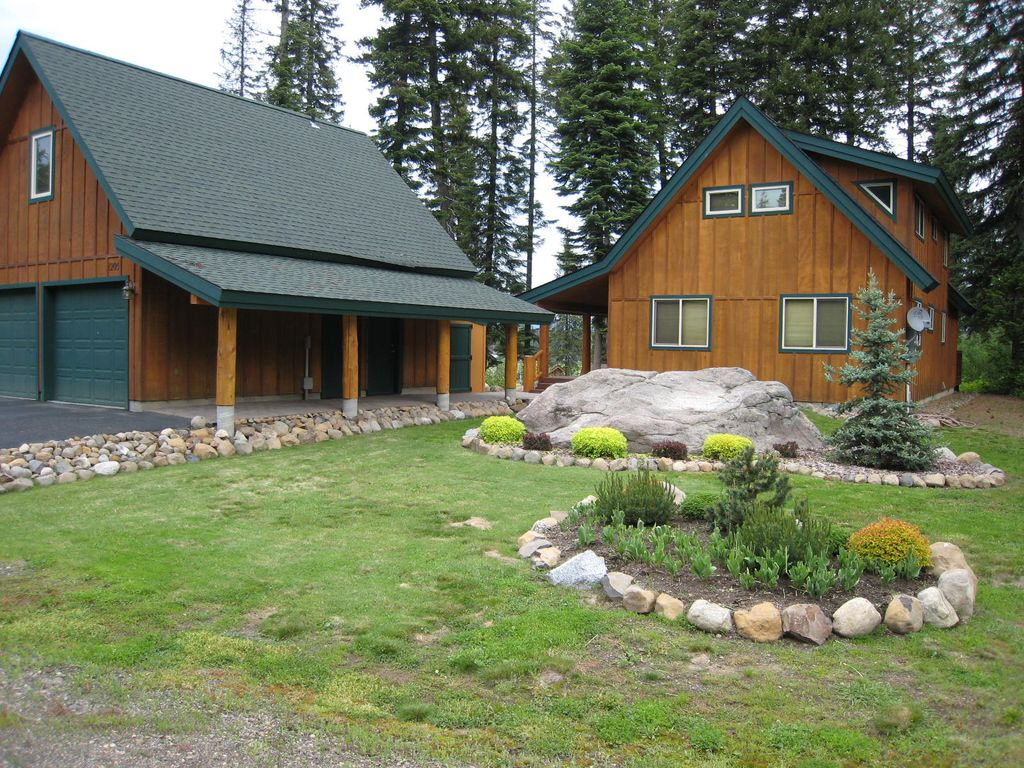 Alpine view mountain style home with homeaway mccall - Alpine vacation houses ...