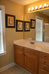 Vacation Homes in Ocean City townhome photo - One of 3 Full Bathrooms with large shower some with tub and shower 2nd Level