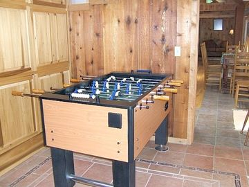 A special nook for foosball!