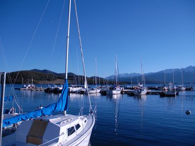 Marina at Dillon Lake