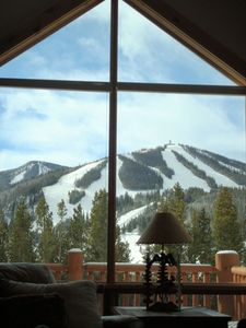 Your view of Winter Park ski area from the main living area.