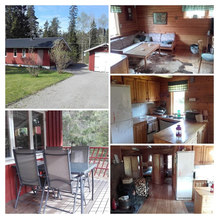 Charming holiday cottage amidst nature but not far from Goteborg