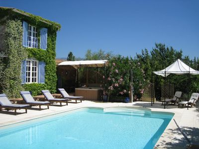 Fayence villa rental - The Sun Drenched Pool Area