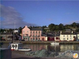 Early morning Youghal sunshine from the quay