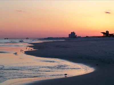 Watch the sun set over the beautiful Gulf Coast.