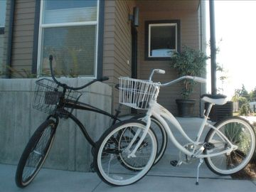 His and Her Cruiser Bikes