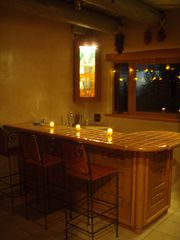 Taos estate photo - Dragonfly Bar has Ice Maker and Fridge