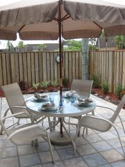 Jupiter townhome photo - Outdoor patio