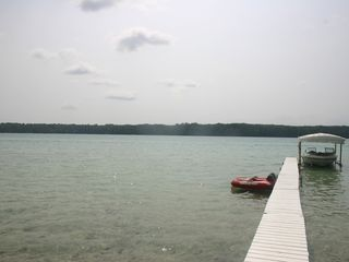 Hillman house photo - Nice long dock perfect for jumping off! Stays shallow forever!