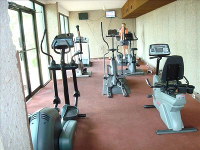 Osage Beach condo rental - Fitness Room