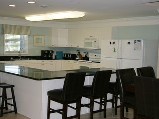 Crescent Beach villa photo - Kitchen has 2 refrigerators, 2 coffee makers, 2 toasters! Very well stocked!
