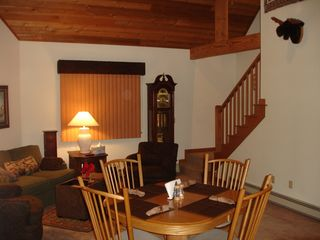Newbury chalet photo - Living Room with GrandFather Clock