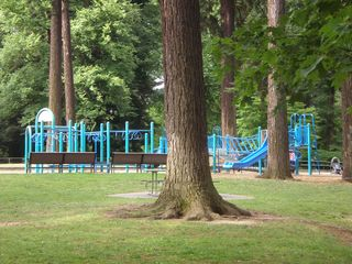 Portland apartment photo - Play structure at Laurelhurst park