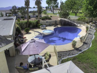 Spectacular Retreat, Close to Front Sight, On The Golf Course With Large Pool