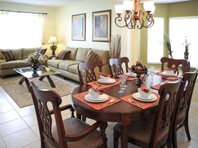 Terra Verde villa rental - Dining area and second living area