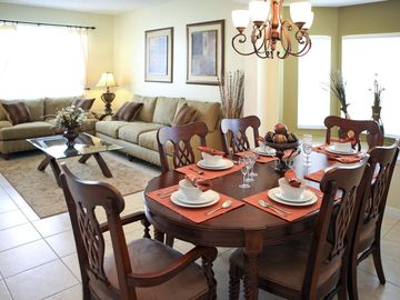 Dining area and second living area