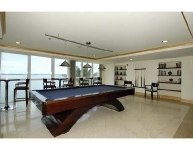 Recreation Club Room in the building with amazing ocean views