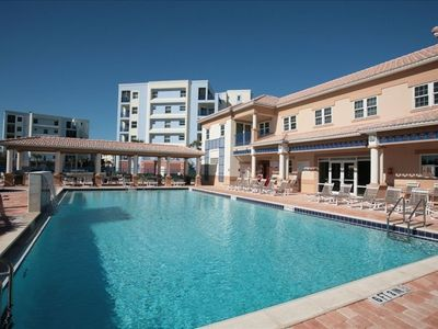 Oceanwalk's Beautiful New Clubhouse & Pool complete with a waterfall!