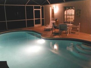 Briargrove villa photo - Comfortable night swimming after a long day at the parks
