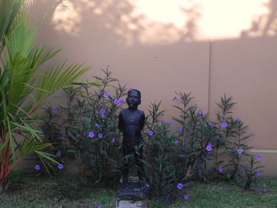 Garden Scupture 'Abraham' made by the house owner