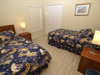 Orange Tree villa photo - Twin bedroom one