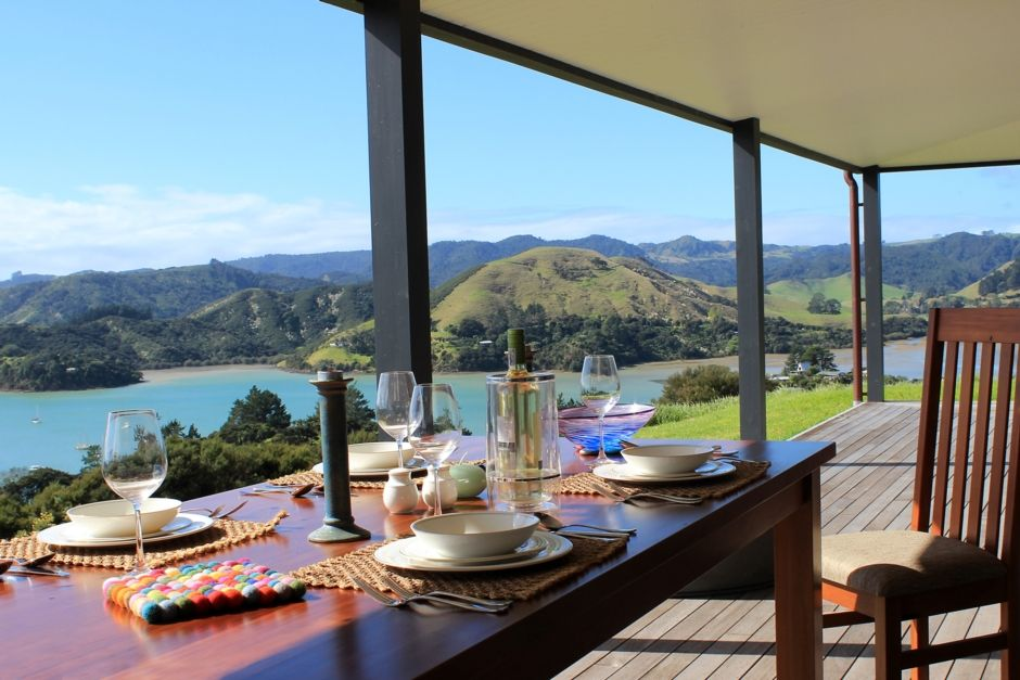 Bankers guest chair - Heaven On A Stick At Beautiful Whangaroa Harbour Vrbo