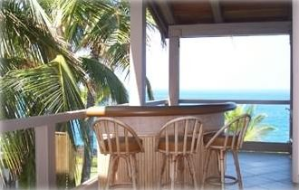 Traditional Bar set on Lanai for your enjoyment.