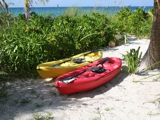 Governor's Harbour house photo - Enjoy the two kayaks on the crystal clear turquoise water!