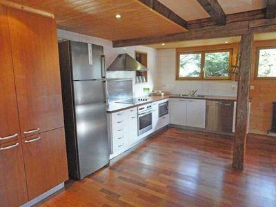 La Clusaz chalet rental - An all equiped kitchen to prepare delicious me