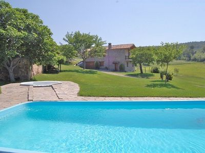 A wonderful pool is situated in the garden (32m2)