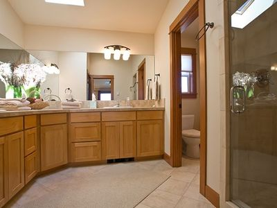 Master Bathroom with Double Shower