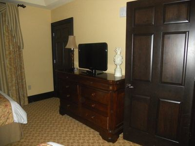 Each bedroom has flat screen TV