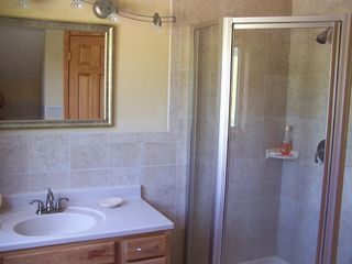 Ellicottville chalet photo - Master bathroom