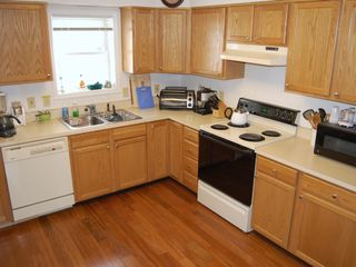 Lake Placid house photo - Kitchen (new hardwood flooring)
