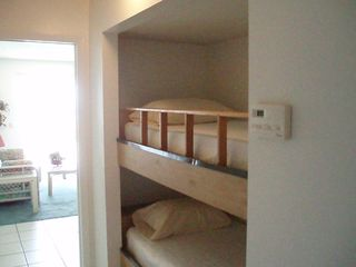 The Summit condo photo - Bunk Beds in a hall area-safe comfortable sleeping for kids and adults