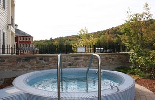 Ludlow condo photo - Okemo Jackson Gore - Adams House - Hot Tub Garden