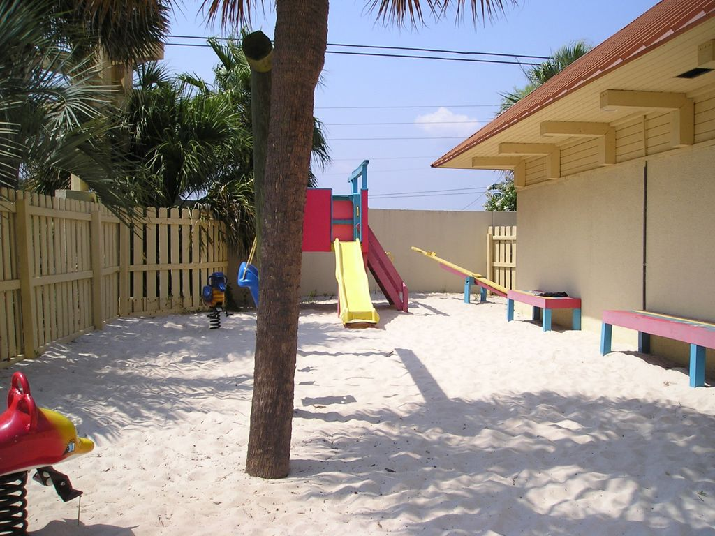 Playground for the little tykes by the indoor pool.