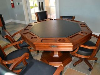Hobbie room complete withcard table, tv with DVD, foozeball... - Bella Piazza condo vacation rental photo
