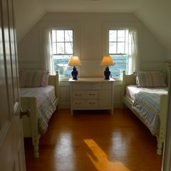 West Yarmouth house photo - This twin bedroom is on the upper floor.