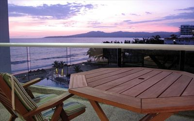 Enjoy the Beautiful Sunsets from the Furnished Balcony