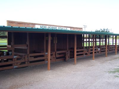 Westgate River Ranch - Mini Horse Stalls